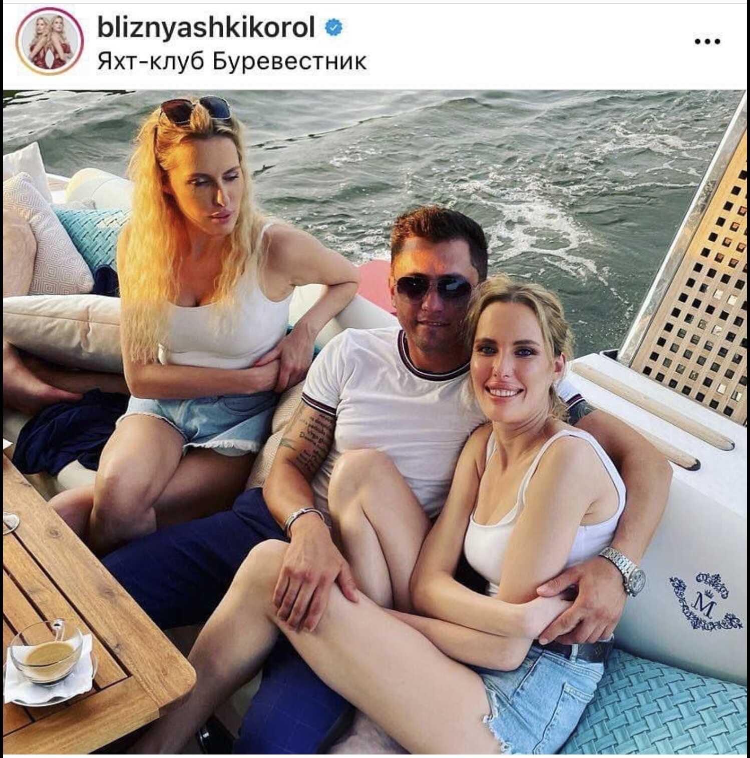 Сёстры Король прокомментировали свои отношения с Павлом Прилучным