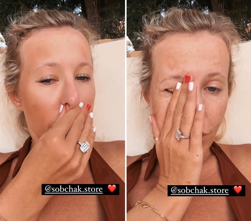 Как выглядит настоящая Ксения Собчак: у Ксюши в сторис слетел фильтр с лица
