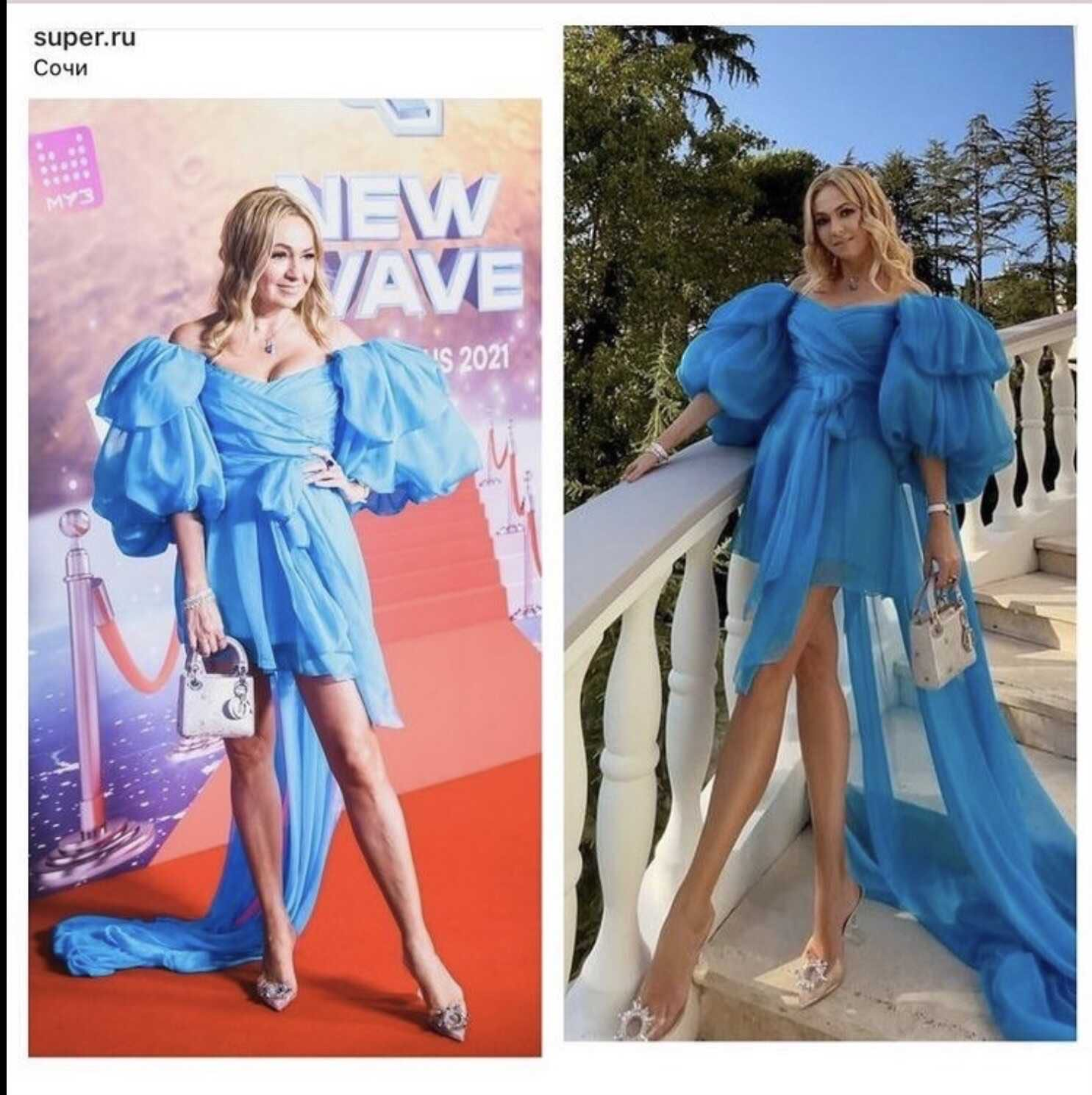 «Очередной провал»: Яна Рудковская снова позабавила публику своим «роскошным» нарядом