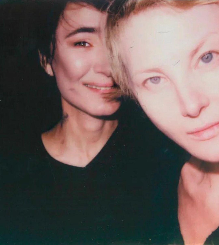 Рената Литвинова поздравила близкую подругу Земфиру с днем рождения