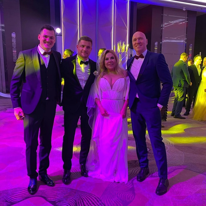 Marina Fedunkiv in a white dress played a wedding with her Italian prince.  Photos and videos from the wedding ceremony