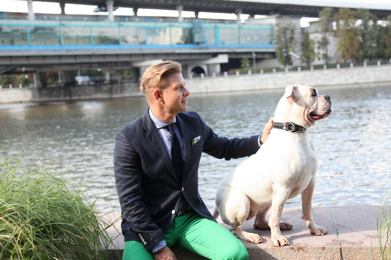 Mitya Fomin burst into tears over the death of a pet