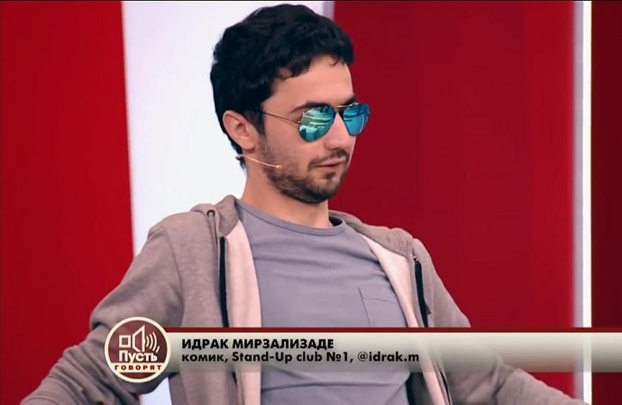 Standader Idrak Mirzalizade is expelled from Russia