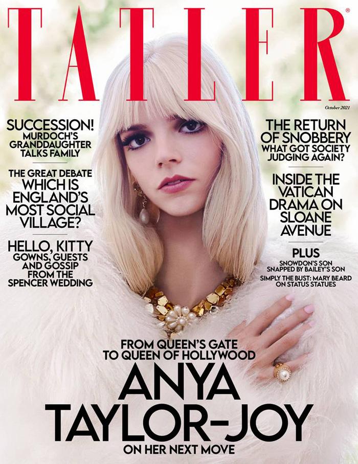 "Anya Taylor-Joy, actress of the movie ""Queen"