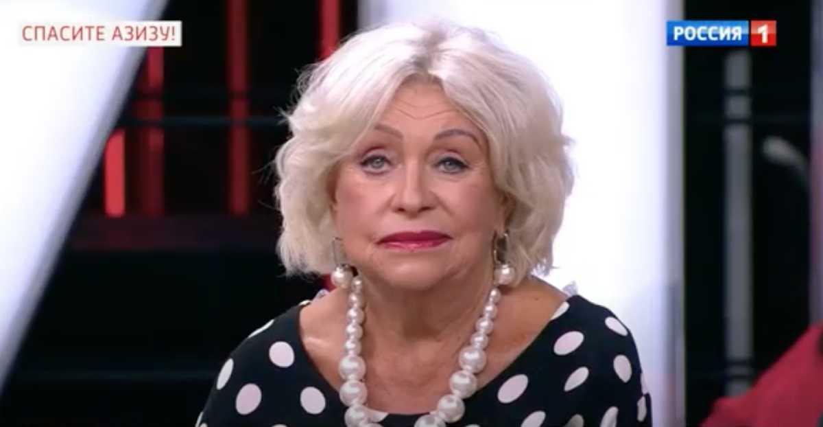 Людмила Поргина появилась в студии Андрея Малахова после пластики и напугала зрителей