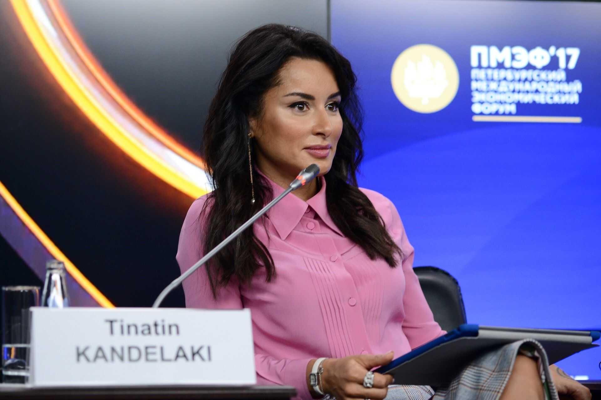 Тина Канделаки прокомментировала свой уход с поста генпродюсера Матч-ТВ