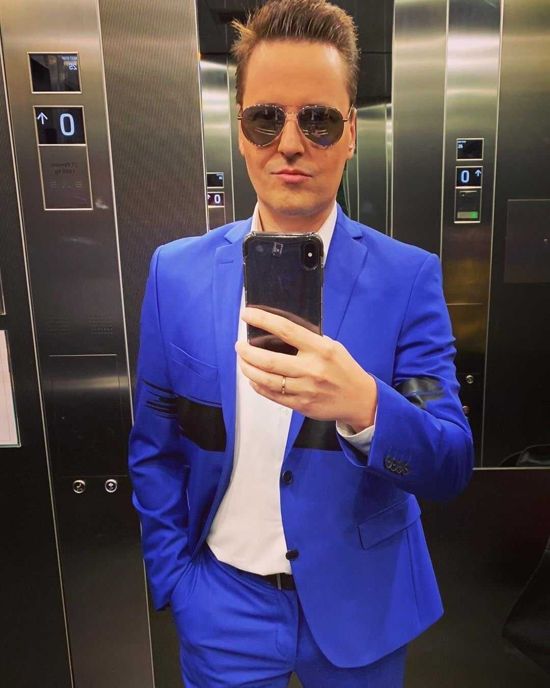 Singer Vitas showed the face of his third child