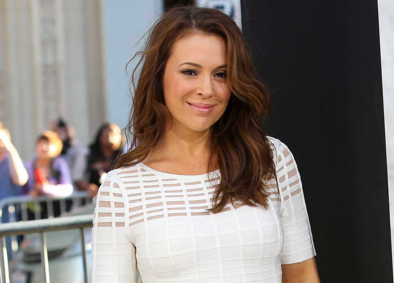 Alyssa Milano spoke frankly about her mental illness