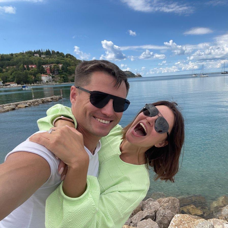 Anastasia Makeeva touchingly congratulated her husband on her birthday