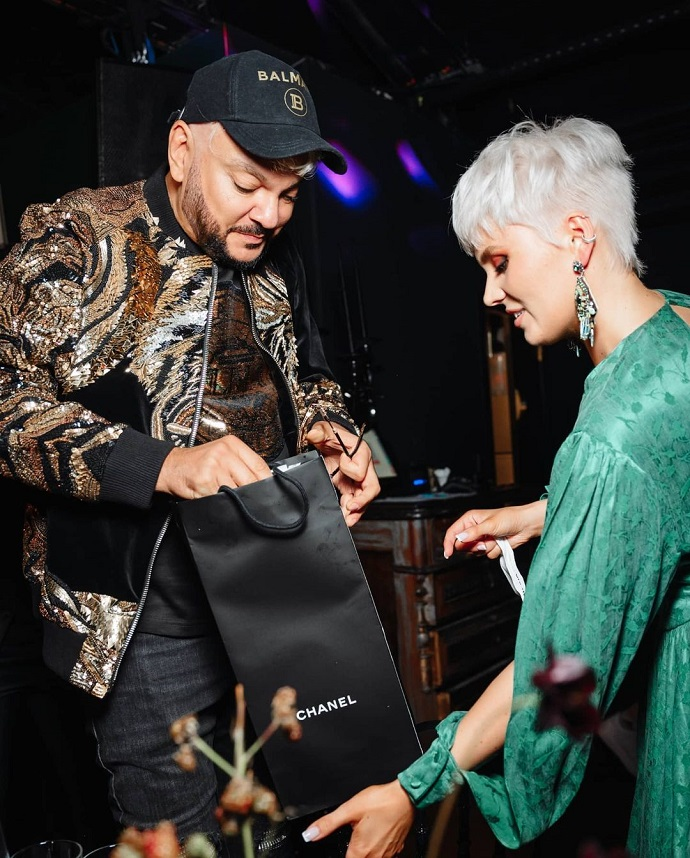 Valeria arranged a birthday party for her daughter with Lolita and Philip Kirkorov through barter