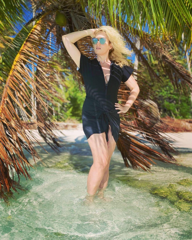 Ребел Уилсон продемонстрировала идеальную фигуру в купальнике