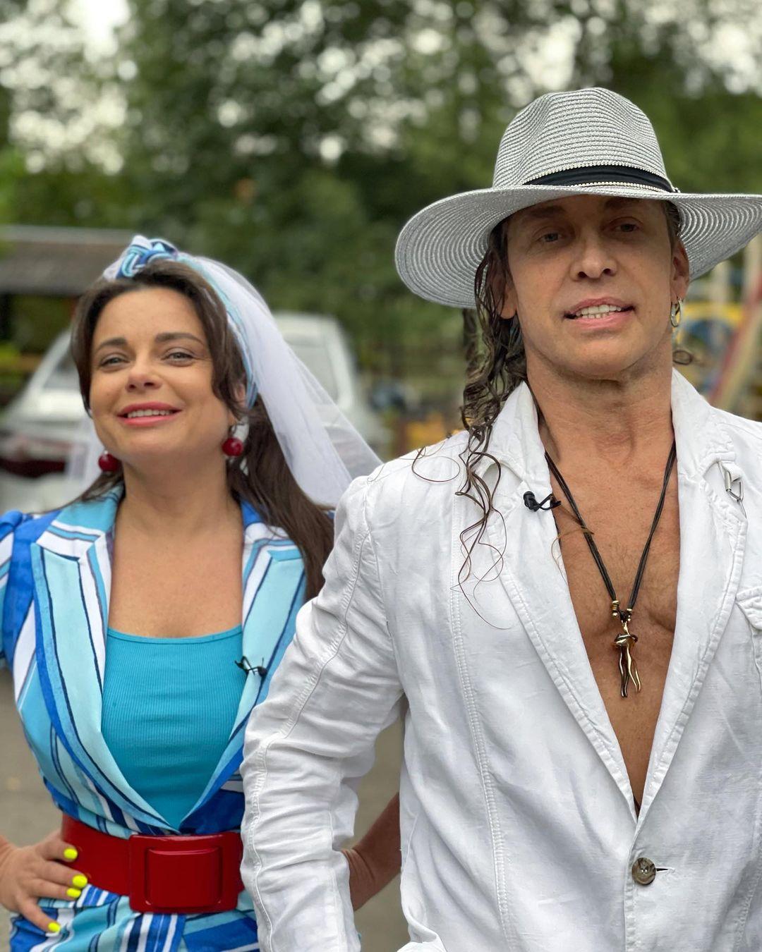 Наташа Королева и Тарзан решили уехать на время из страны