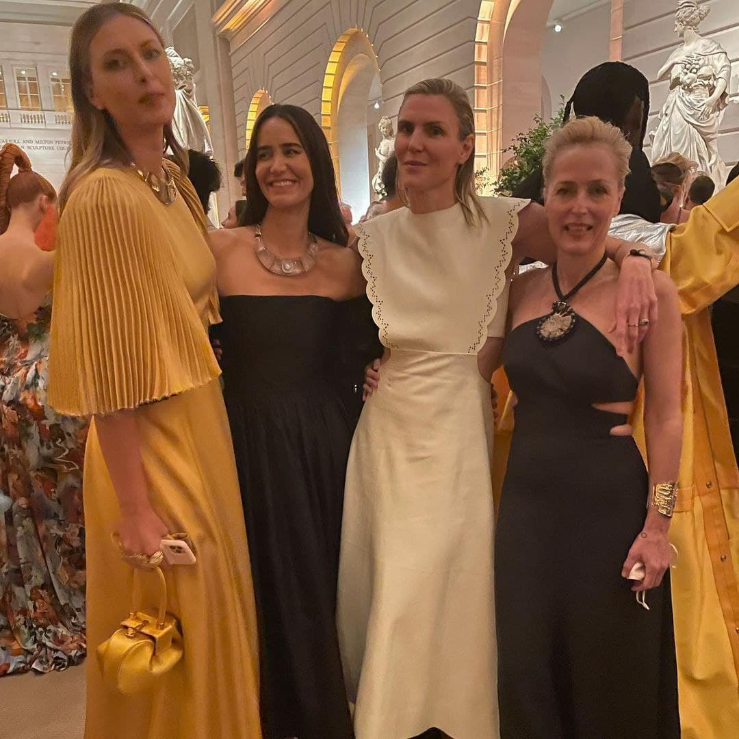 Мария Шарапова восхитила нежным образом на балу Met Gala 2021