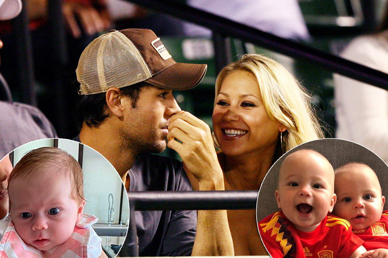 The daughter of Enrique Iglesias and Anna Kournikova danced incendiary to the new song of dad