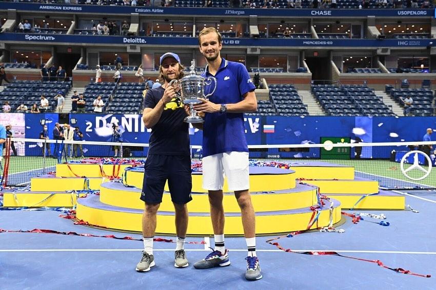Даниил Медведев показал, как расслабляется после победы на US Open