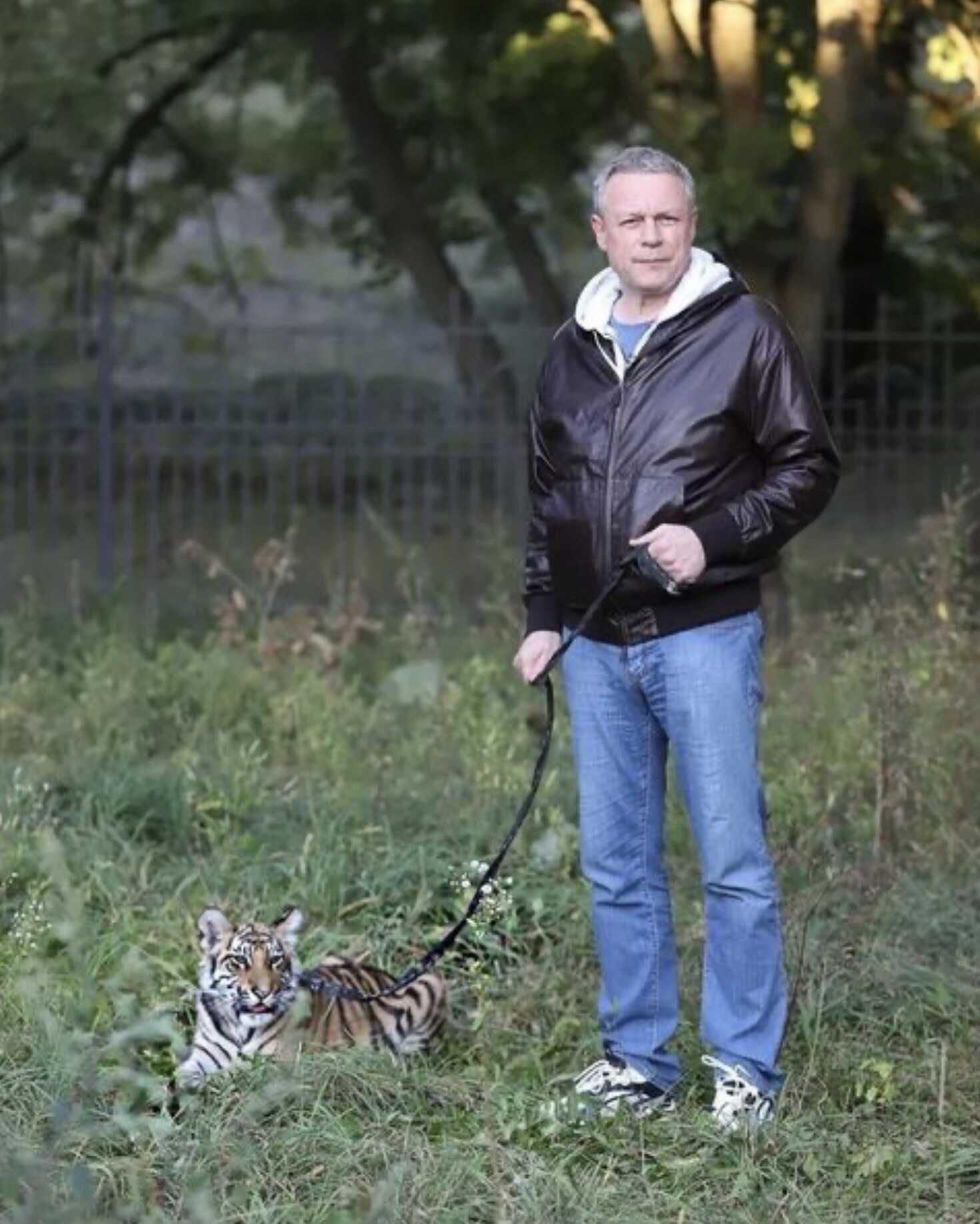 Сергей Жигунов завёл себе тигра
