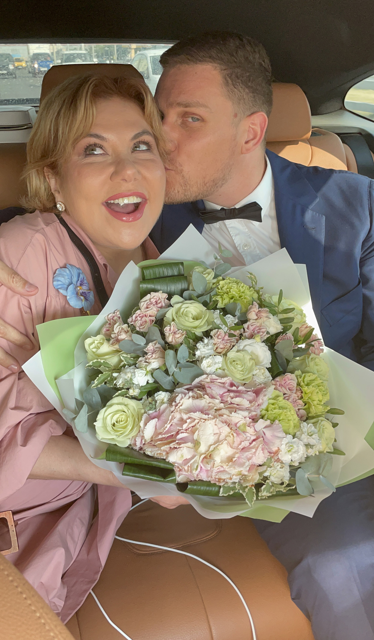 Marina Fedunkiv wants to marry her young husband