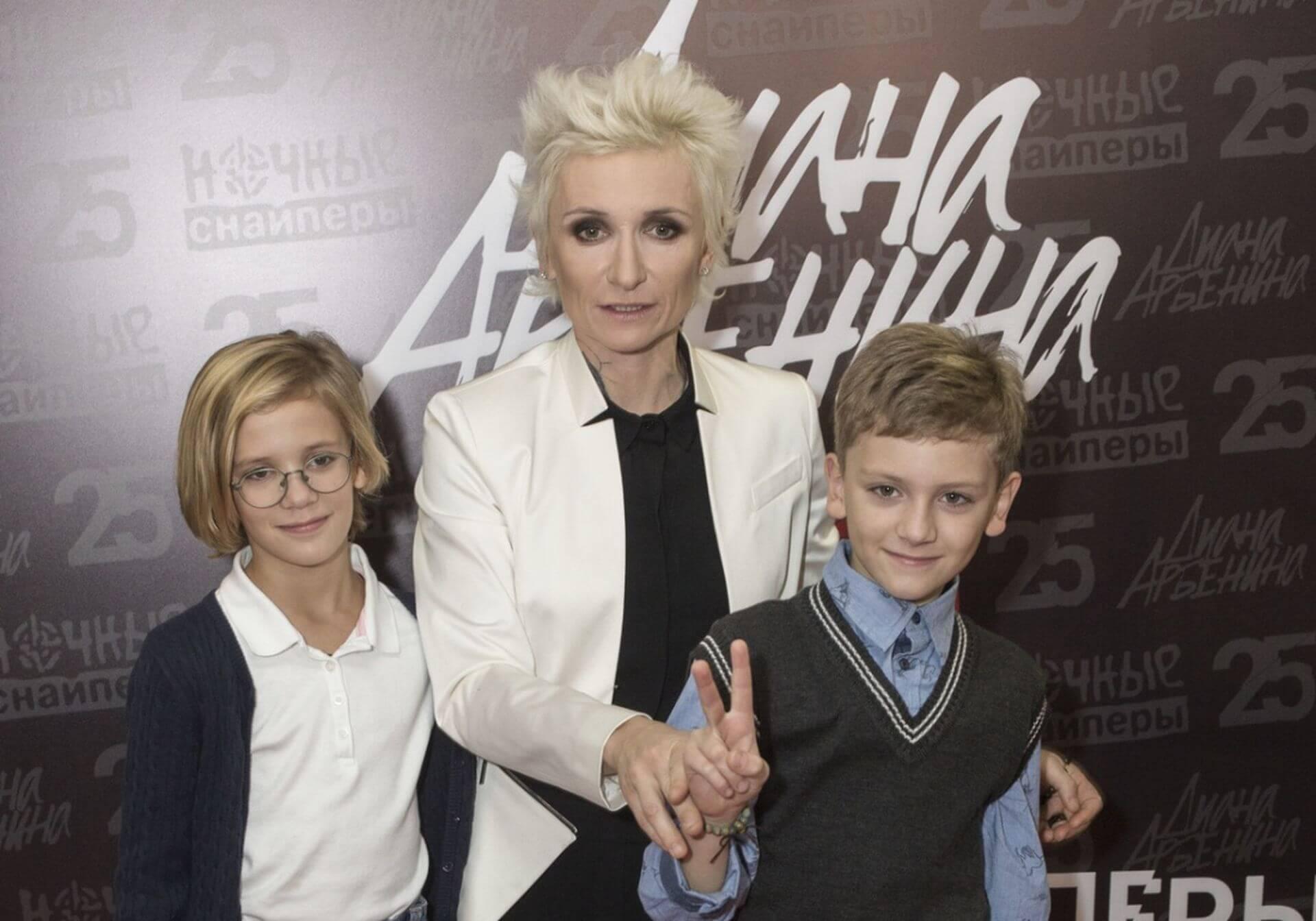 Диана Арбенина рассказала своим детям правду об их родном отце