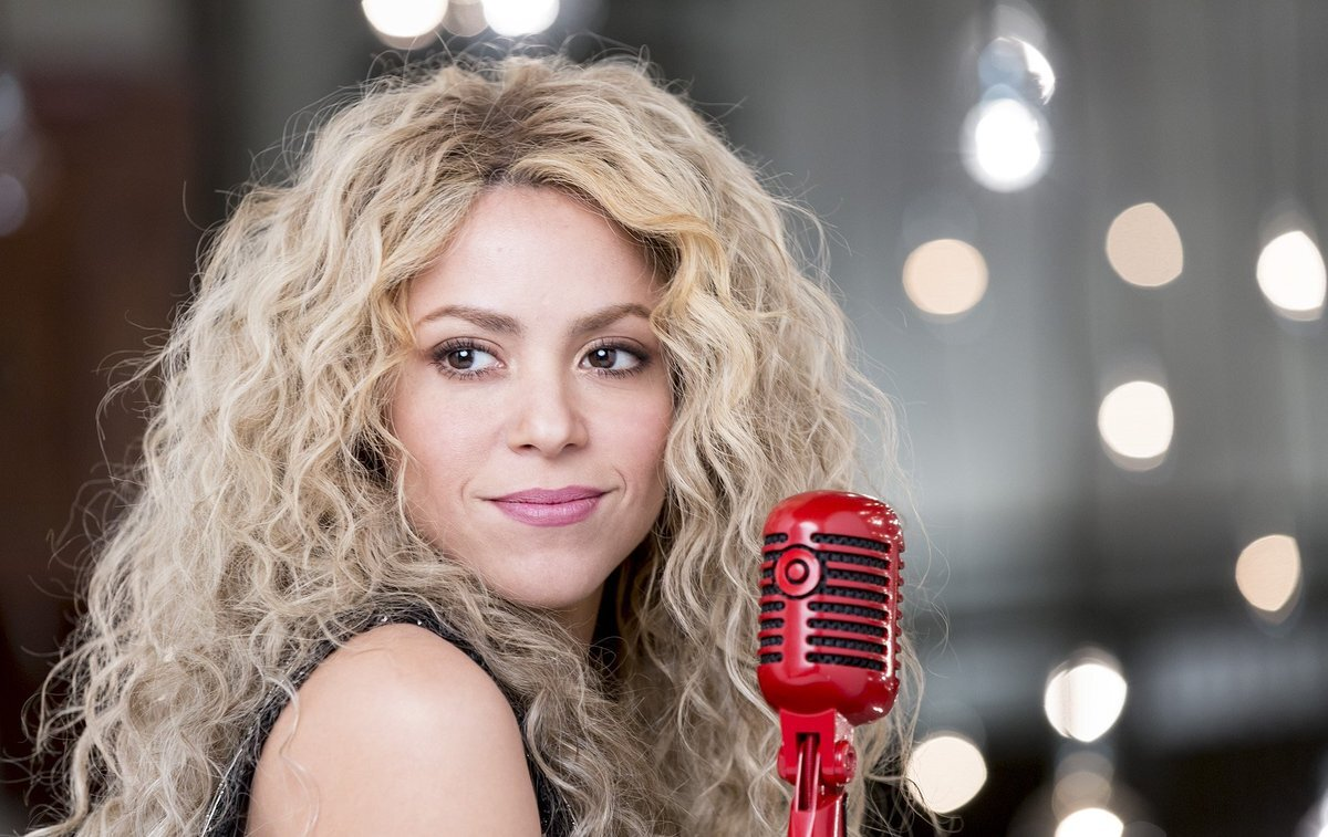 Shakira suffered from wild boars who stole her belongings