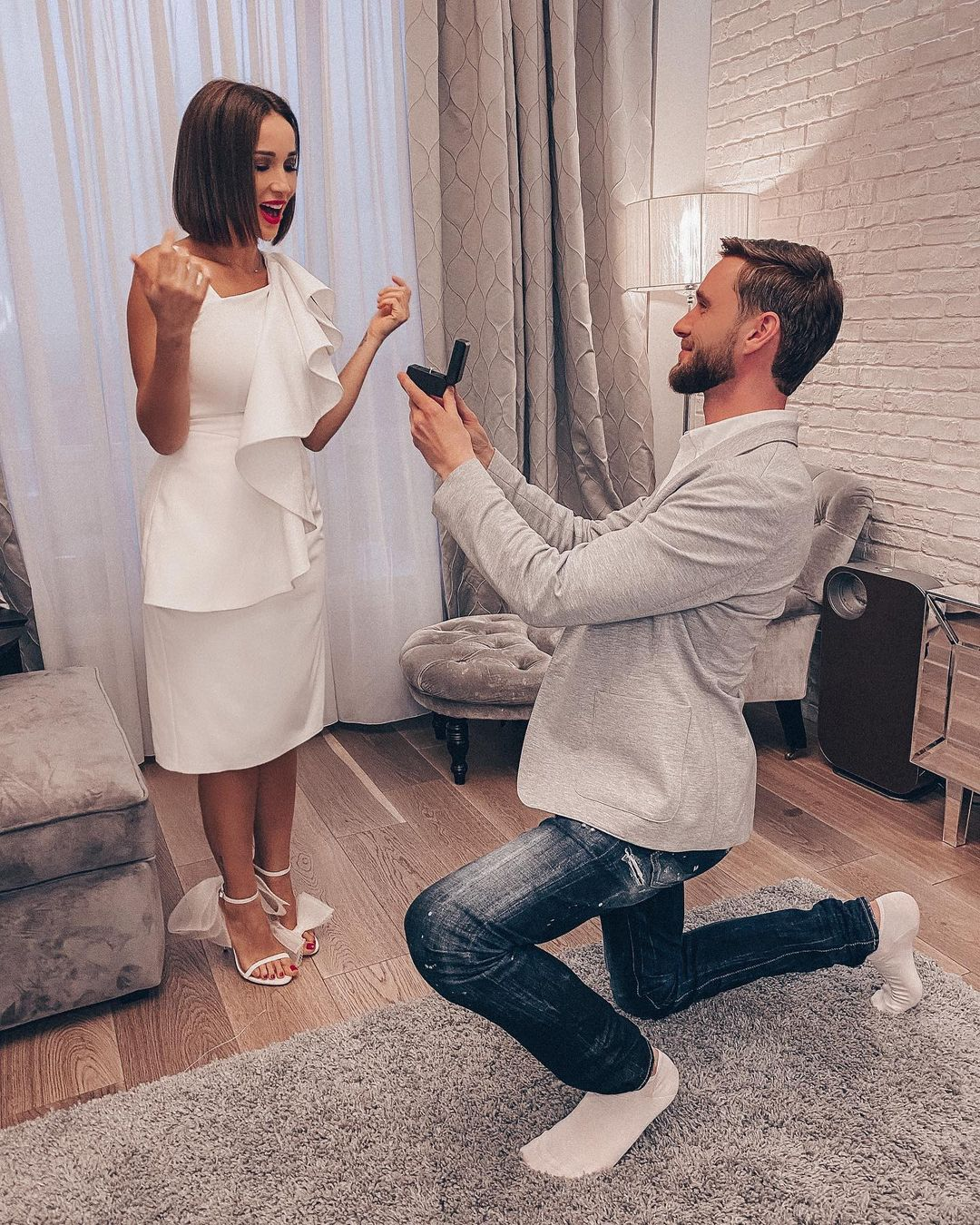 Anfisa Chekhova received a wedding ring as a gift and thought about marriage