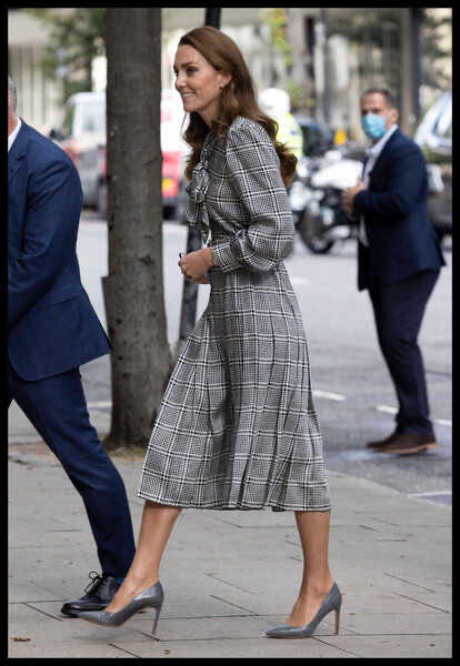 Kate Middleton appeared in public in an old dress worth 1,500 rubles