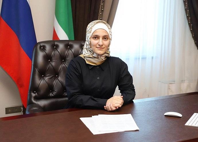 Дочь Рамзана Кадырова 22-летняя Айшат стала Министром культуры Чечни