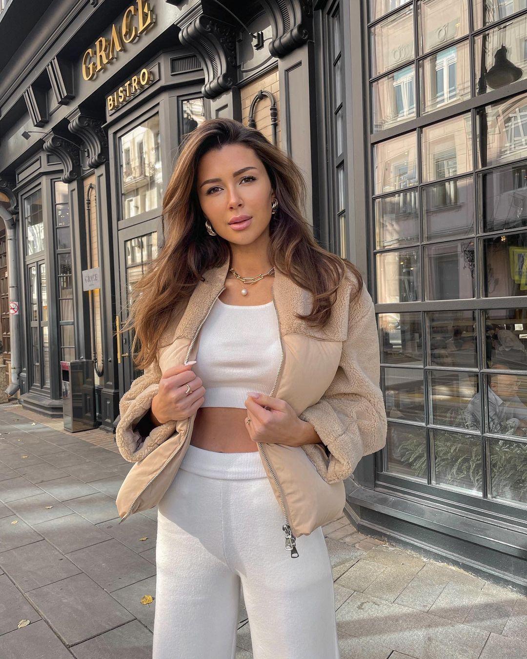 Anna Zavorotnyuk was glad to the gained pounds