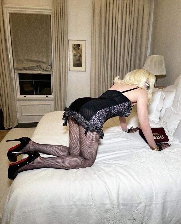 Мадонна показала Америке свою толстую задницу