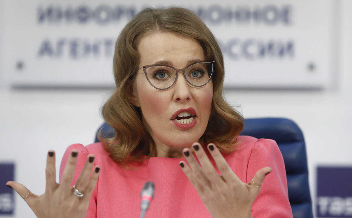 Ksenia Sobchak gave a comment after yesterday's fatal accident that killed two people